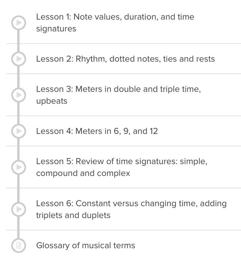 A bad way to teach music
